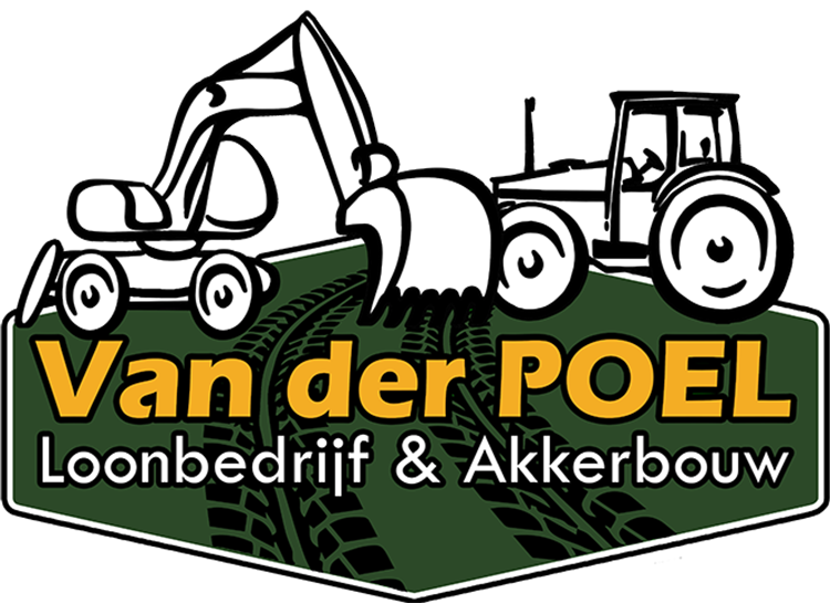 Loonbedrijf van der Poel Logo
